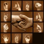 Говорящие руки — язык жестов.
